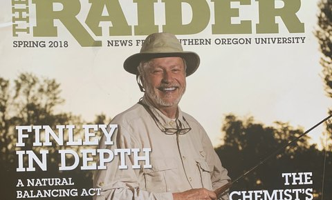 Michael Finley, Global Conservation Board Director and President Emeritus Turner Foundation, featured in The Raider Magazine