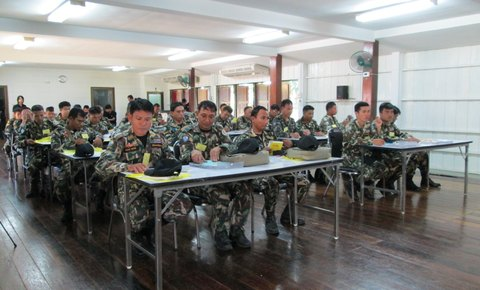 Leuser Ecosystem - National Park Senior Team Receives SMART Ranger Patrol Training in Thailand