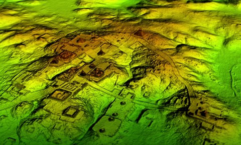 Cutting-edge Laser Technology Uncovers Secrets of Maya Holy City