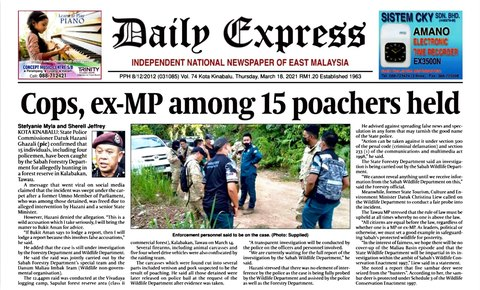 DaMaI 2020-2021 Progress Report: 15 poachers arrested, GC supports 6 ATVs
