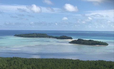 2018 Progress in Marine Global Park Defense in Palau Northern Reefs